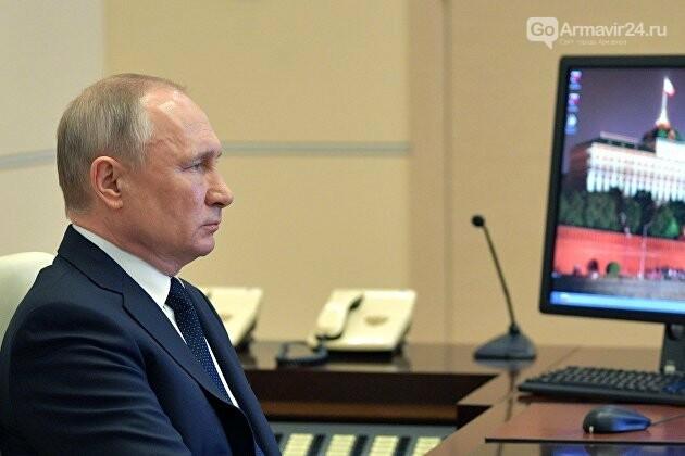 Состоялась встреча президента Владимира Путина с главой региона Вениамином Кондратьевым, фото-1