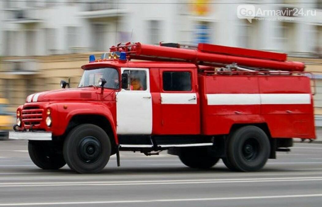 В Армавире пожар привел к гибели мужчины, фото-1