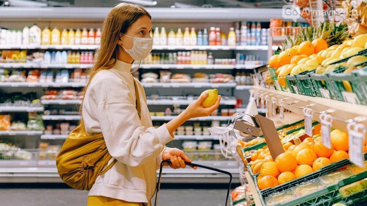 В Армавире жителей, находящихся в магазинах без масок, штрафуют , фото-1