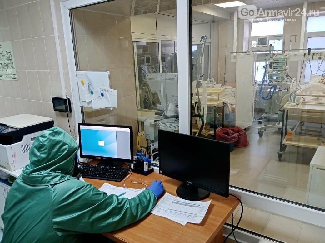В Армавира за сутки новый случай заражения  COVID-19, фото-1