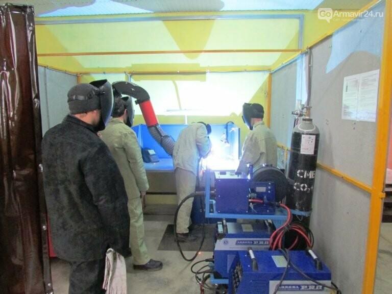 В Армавирском индустриально-строительном техникуме появится современная мастерская, фото-1