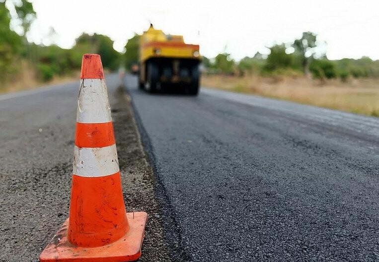 В Армавире завершили ремонт дороги у кладбища, фото-1