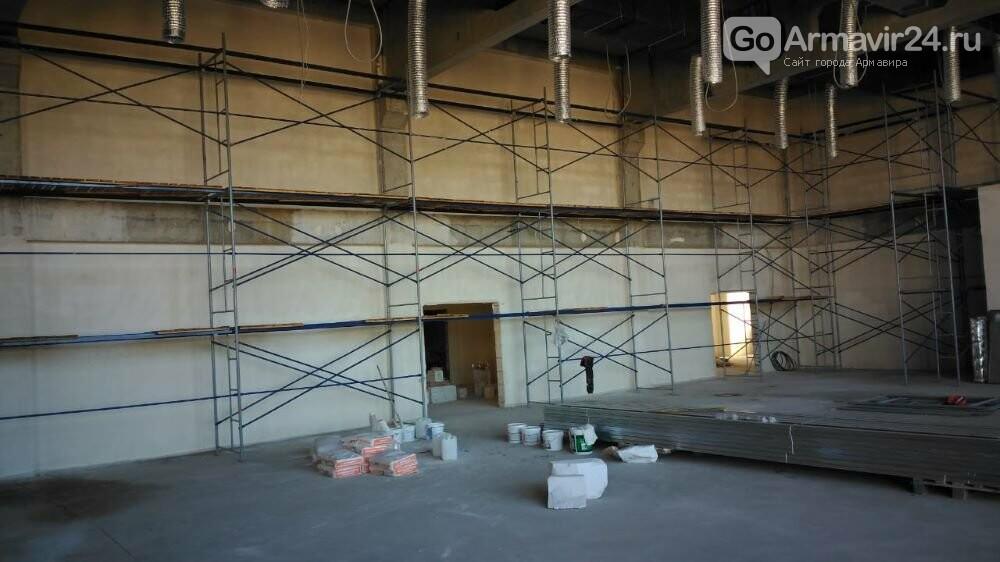 В Армавире строительство школы в микрорайоне Северном выполнено на 52%, фото-2