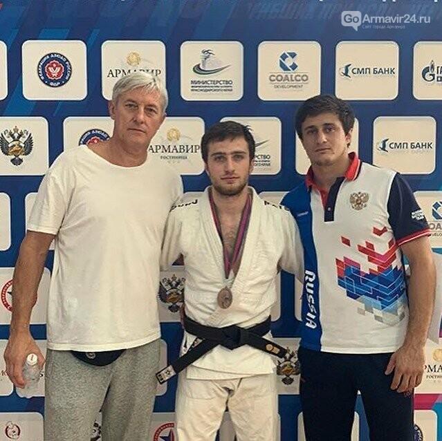 Армавирские дзюдоисты показали высокий уровень на Чемпионате Краснодарского края, фото-1