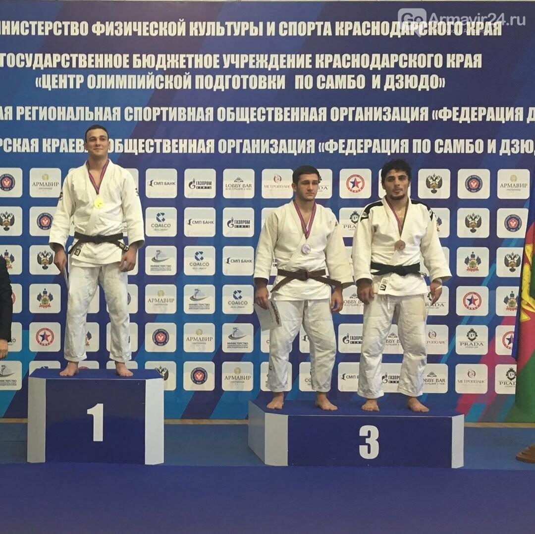 Армавирские дзюдоисты показали высокий уровень на Чемпионате Краснодарского края, фото-5