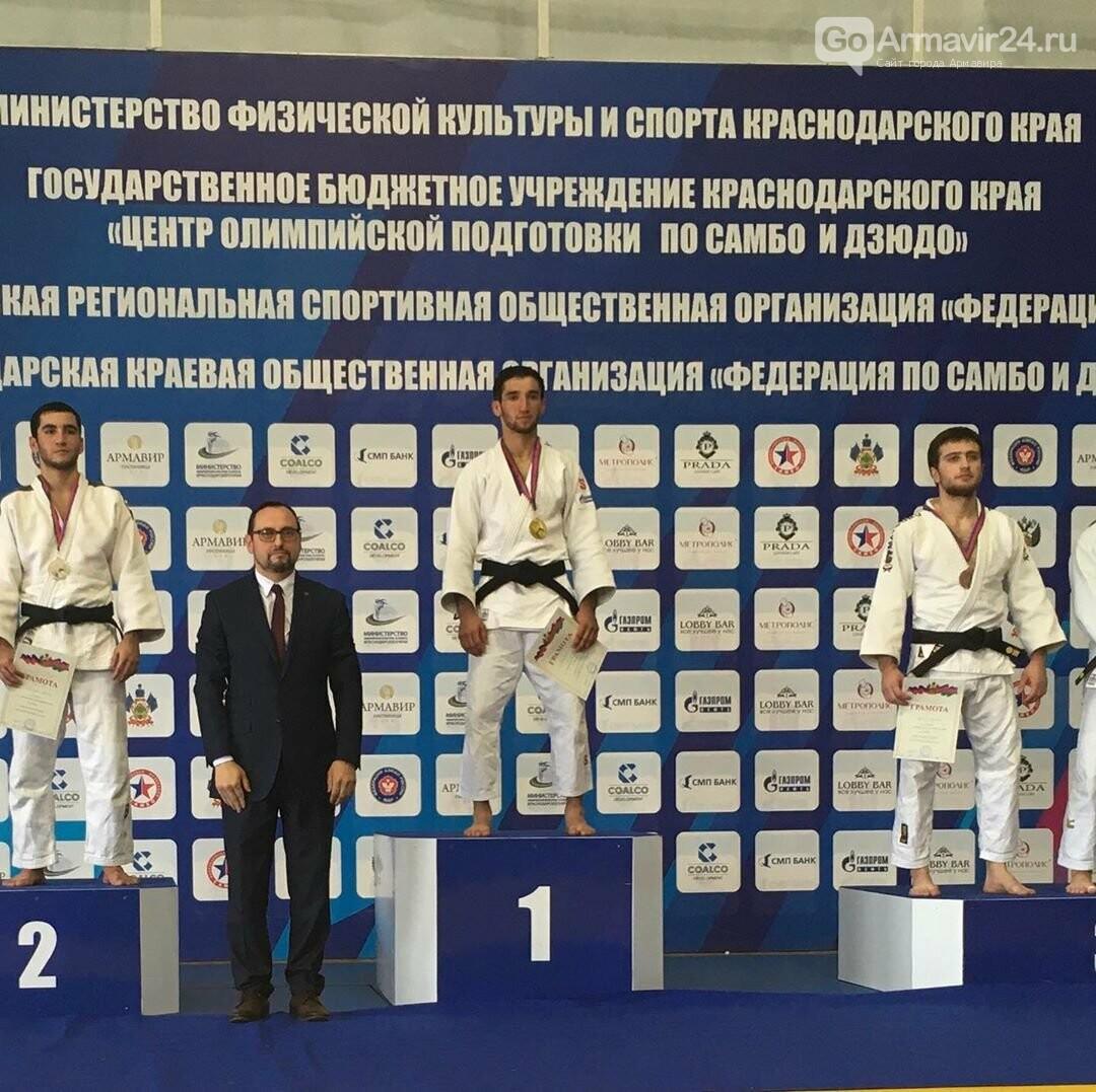 Армавирские дзюдоисты показали высокий уровень на Чемпионате Краснодарского края, фото-8