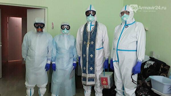 Больные коронавирусом пациенты могут пригласить священников, фото-1