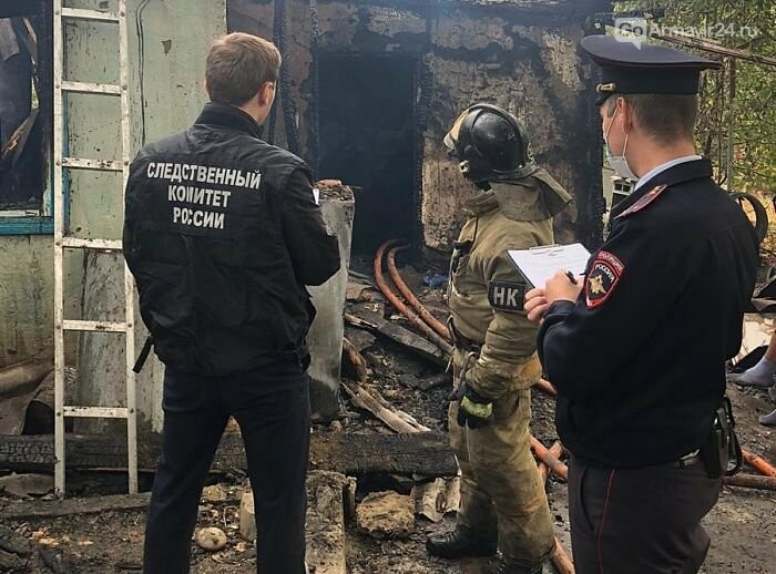 В Армавире во время пожара в микрорайоне Кирпичный погиб мужчина, фото-1