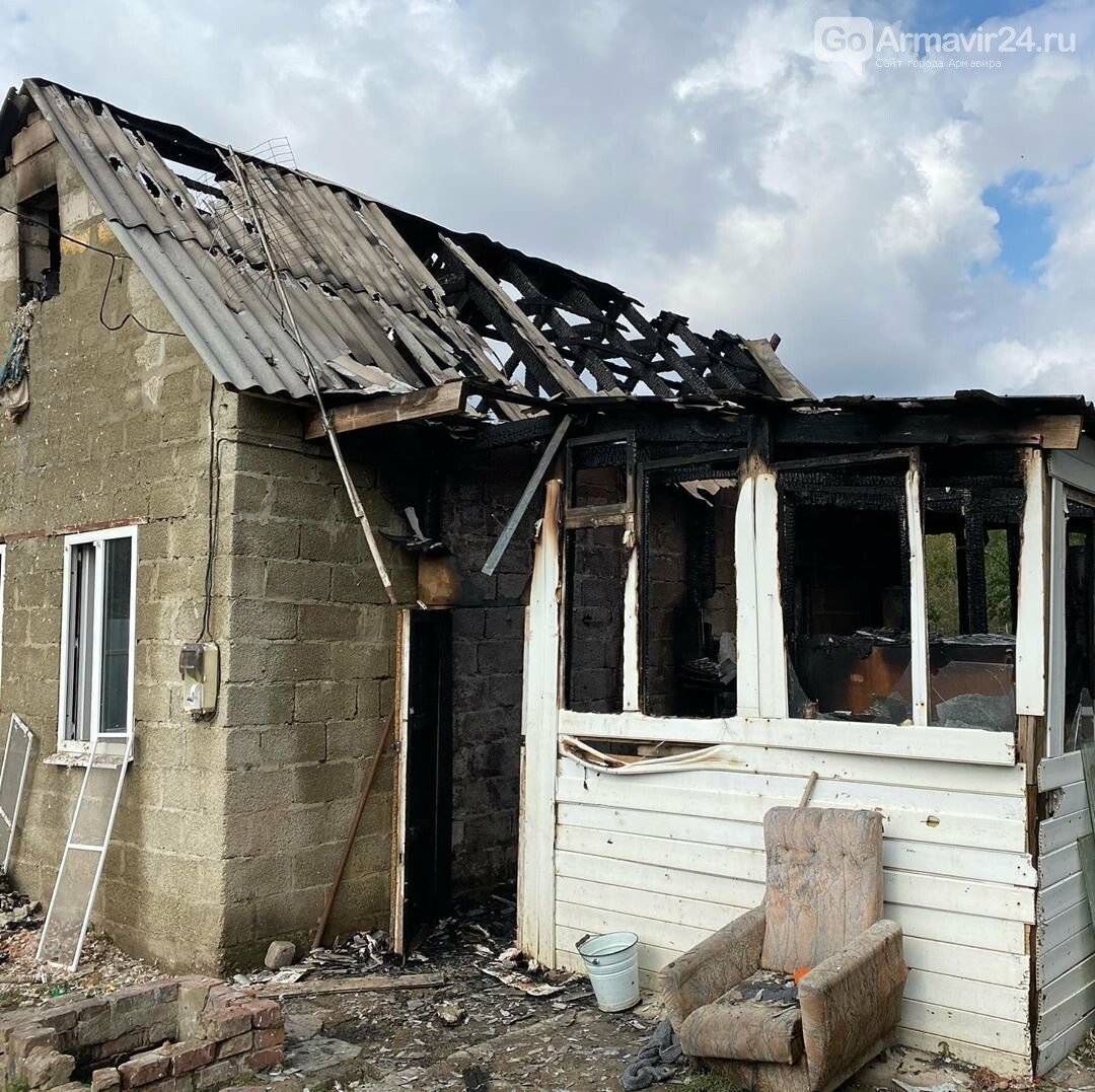 В Армавире Андраник Хачатрян спас детей и их мать во время пожара на улице Виноградной, фото-2