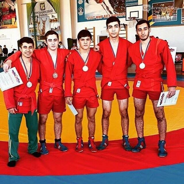 Команда Армавира по самбо заняла первое место на Первенстве Краснодарского края, фото-2