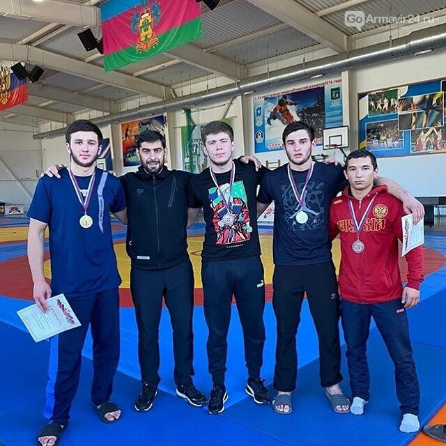 Команда Армавира по самбо заняла первое место на Первенстве Краснодарского края, фото-1