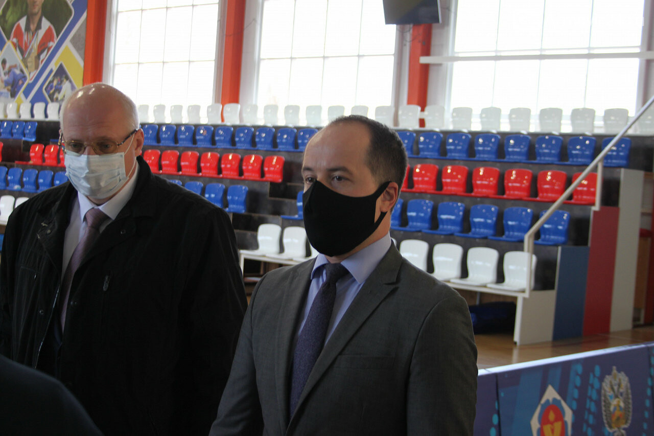 Армавир посетил с рабочим визитом министр физической культуры и спорта Края Алексей Чернов, фото-7