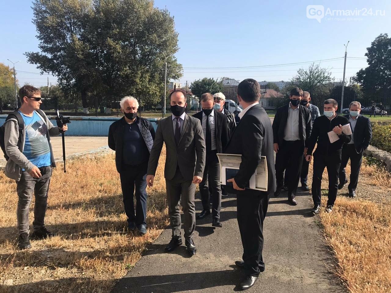 Армавир посетил с рабочим визитом министр физической культуры и спорта Края Алексей Чернов, фото-6