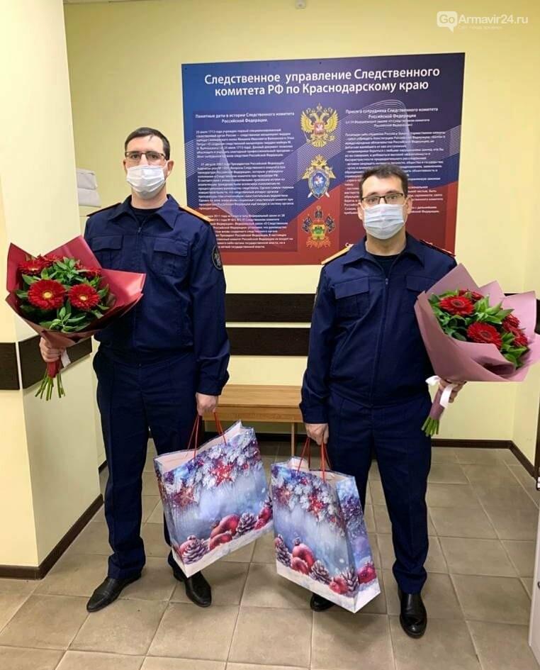 В Армавире сотрудники следственного поздравили ветеранов с новогодними праздниками, фото-1