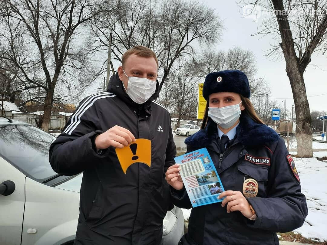 Автоинспекторы Армавира напомнили «молодым водителям» о ПДД, фото-4