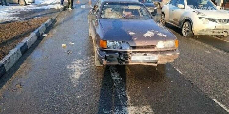 В Армавире сбили женщину-пешехода, фото-1
