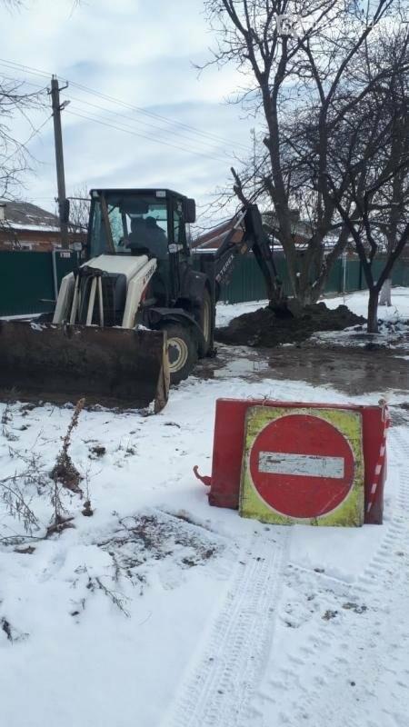 В Армавире на улицах СПК (колхоз) «Восток» произошли 2 прорыва водопровода, фото-2