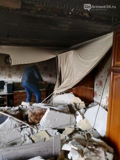 Из-за пожара в одой из квартир Армавира  в 5-этажке эвакуировали 170 человек, фото-7