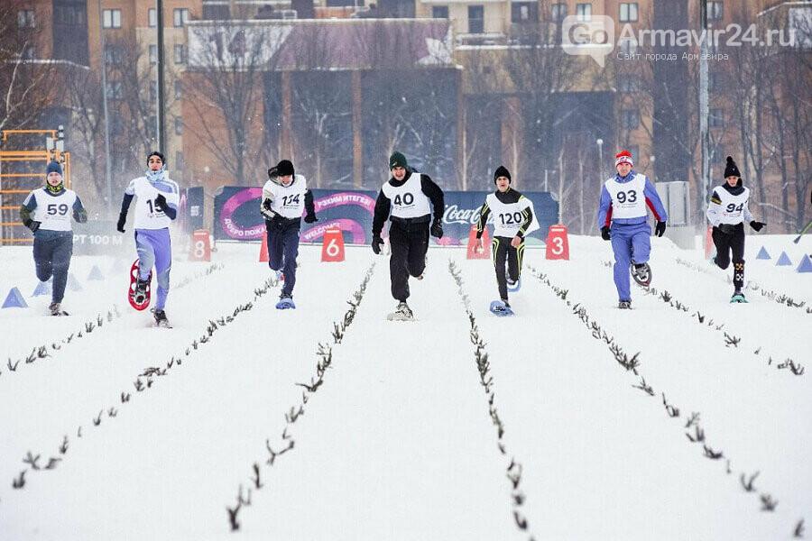 Армавирские спортсмены в беге на снегоступах завоевали 9 медалей, фото-1