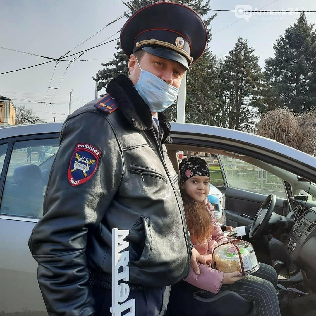 """Акция «Автокресло детям»: в Армавире подсластили жизнь маленьким пассажирам, дали """"ЦУ"""" взрослым, фото-3"""