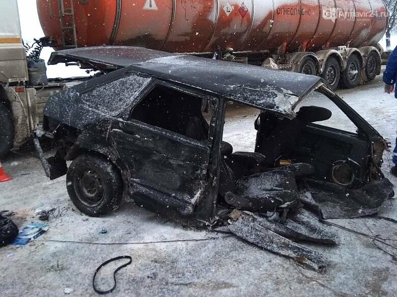 Под Армавиром на трассе ФАД Кавказ произошла серьезная авария, фото-5
