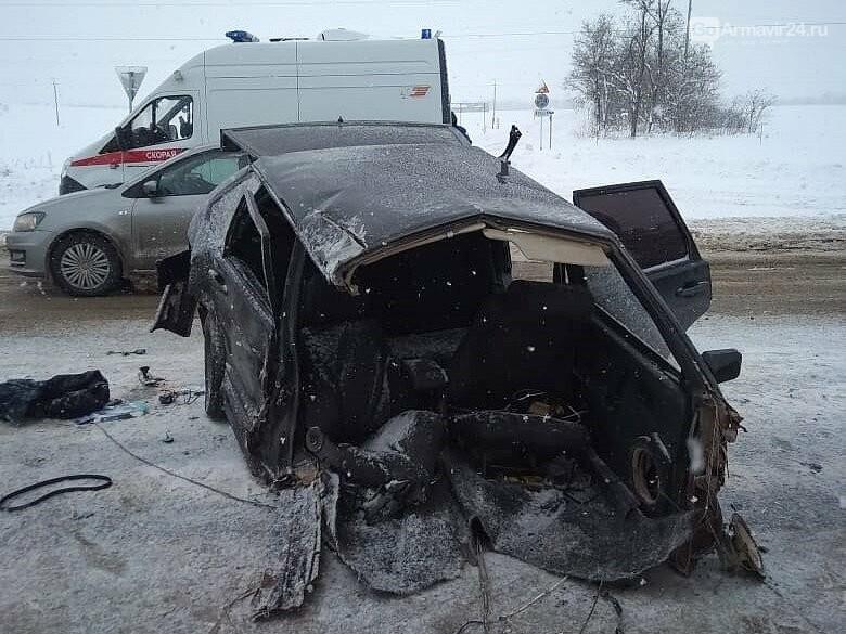 Под Армавиром на трассе ФАД Кавказ произошла серьезная авария, фото-2