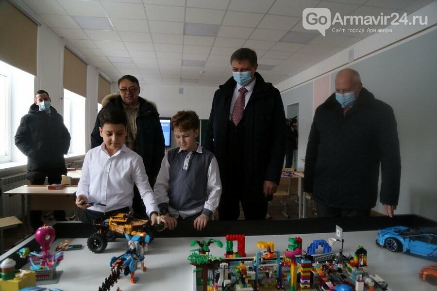 В Армавире завершен капитальный ремонт нового корпуса школы № 18, фото-3